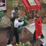 Спектакль «Чудо Георгия о змие»