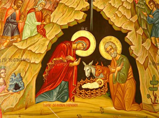 Икона-Рождества-Христова